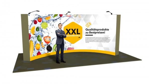 Modularer Messestand xxl-33 (600x224x75 cm)