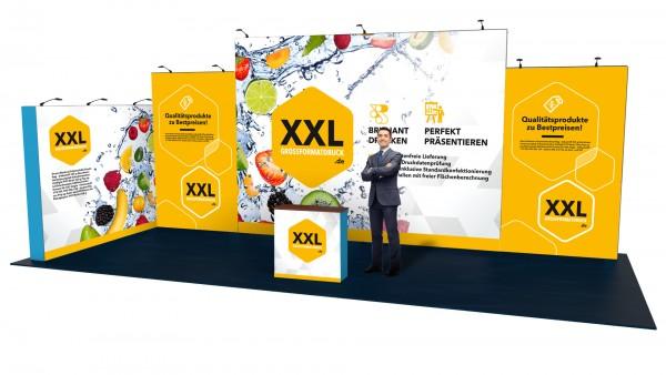 Modularer Messestand xxl-21 (1044x448x407 cm)