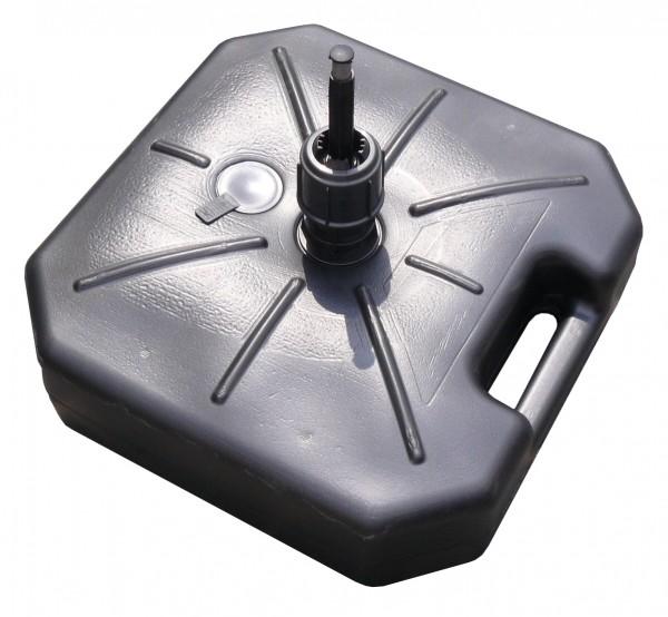Füllbare Plastikbodenplatte / Wassertank