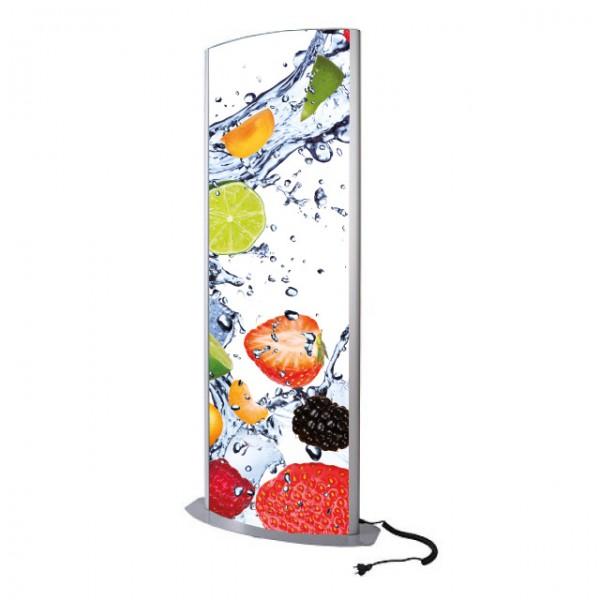 Leuchtsäule ARCUATO 2x 70x100 cm