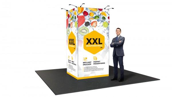 Modularer Messestand xxl-27 (150x298x144 cm)