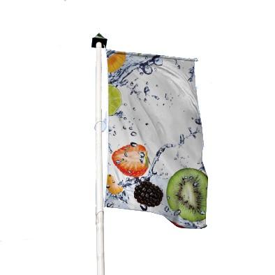 Fahnen und Hissflaggen - Hochformat für Ausleger