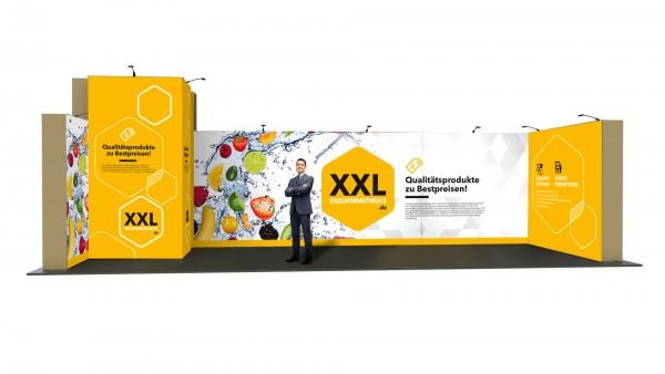 Modularer Messestand xxl-30 (888x298x331 cm)